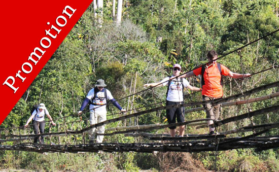 7 days trekking in Putao