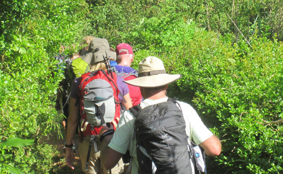 Kalaw to Inle lake Trekking
